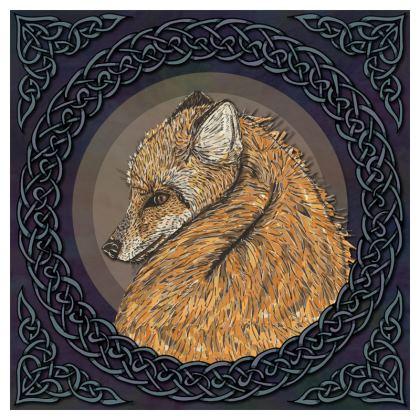 Celtic Fox Cushion
