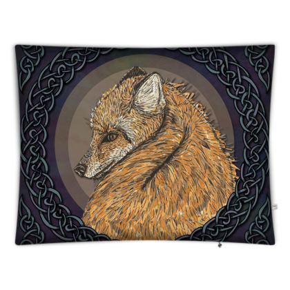 Celtic Fox Floor Cushion