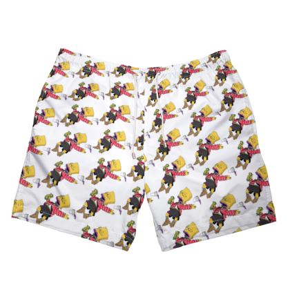 TDM DOOZE OFF MEME SWIM TRUNKS