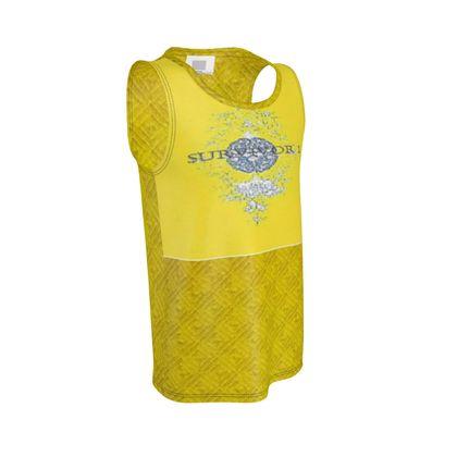 Yellow Diamond Light Design With Survivor 1 Text ©