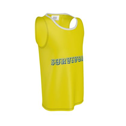 Yellow Cut and Sew Vest ®