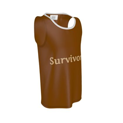 Brown Survivor 1 Cut and Sew Vest ®