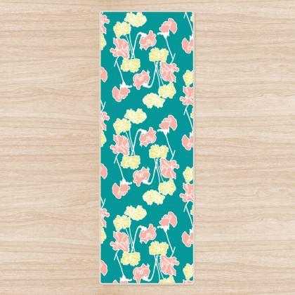 Yoga Mat floral