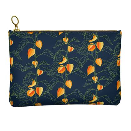 Japanese Lantern Collection - Leather Clutch Bag