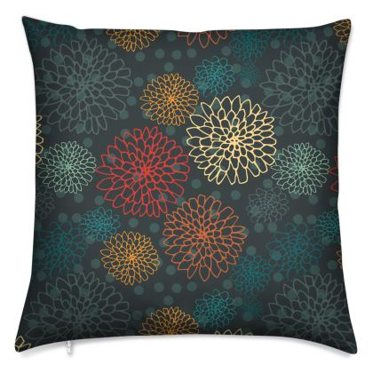 Chrysanthemum Collection - Luxury Cushion