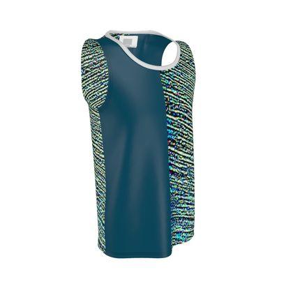 Multi-Color Cut and Sew Vest ©