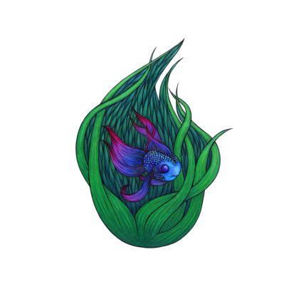 'Hide Your Light' Cushion