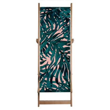 Botanical Palm Deckchair