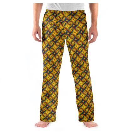 The LAX Gally Carpet Print Pyjama Bottoms