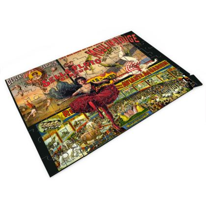 The Circus is in Town Jigsaw Puzzle
