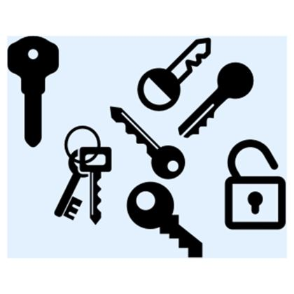 Keys Crossbody Bag With Chain