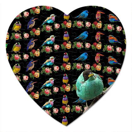 All The Birds Heart Jigsaw