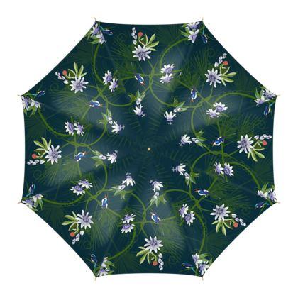 Paradise Kingfishers - Umbrella