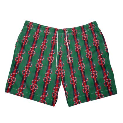 TDM SNAKE CHARMER MEME SWIM TRUNKS