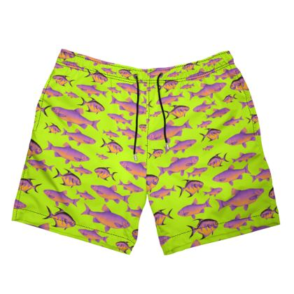 Bright Fish Swim Shorts