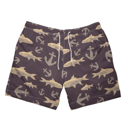 Dark Sea Swim Shorts