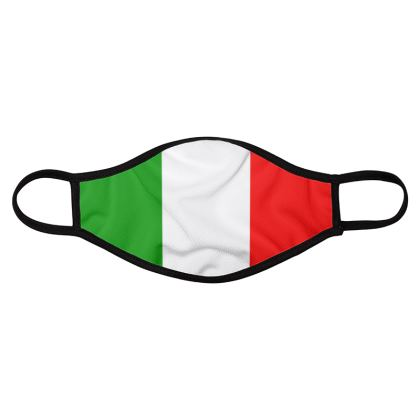 Italy - Italian Flag face mask