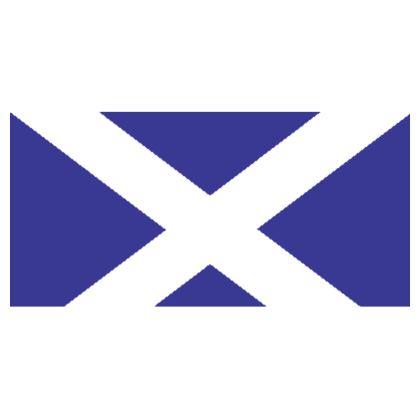 Scotland - Scottish Flag face mask