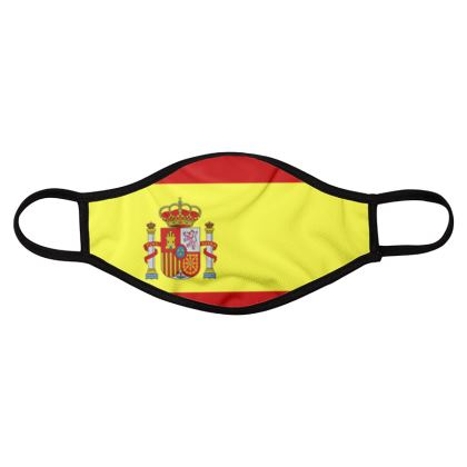 Spain - Spanish Flag Face Mask