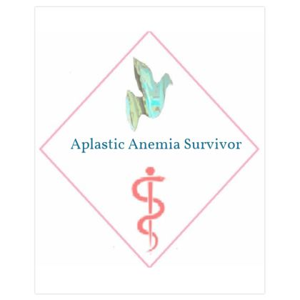 Blue Dove and Pink Caduceus Symbol Severe Aplastic Anemia Survivors ©