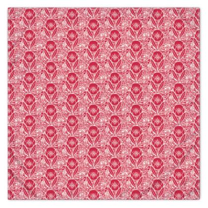 Scarf Wrap or Shawl  - Field poppy