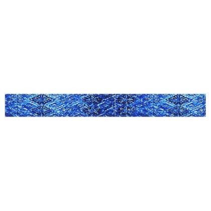 Blue Diamond Design  © Fleece Scarf