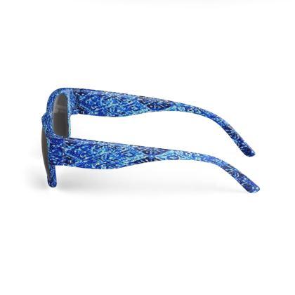 Blue Diamond Design © Sunglasses