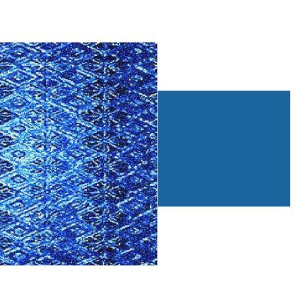 Shimmering Blue Diamond Design ©  Hard  Glass Case