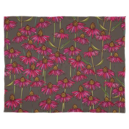 Echinacea Collection - Luxury Scarf, Wrap or Shawl