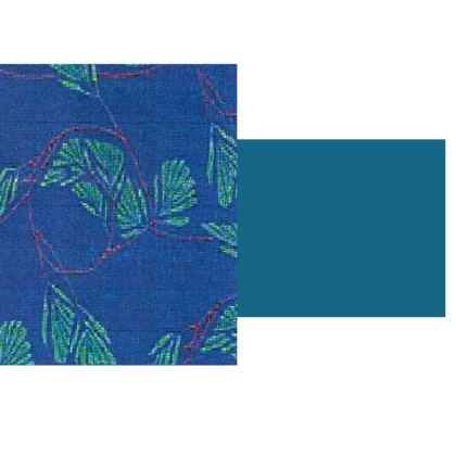 Blue Leaf Design  © Hard Glass Case