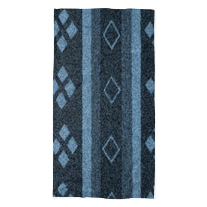 Blue Diamond Line Design © Neck Tube Scarf