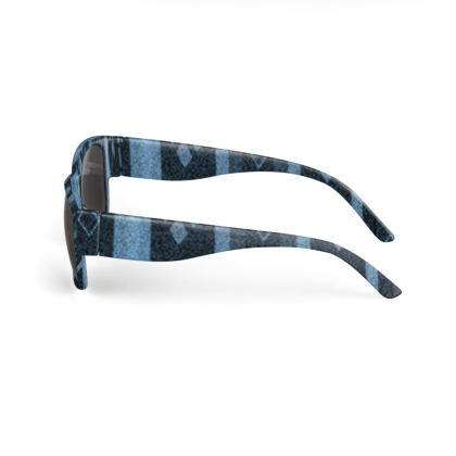 Blue Diamond Line Design © Sunglasses
