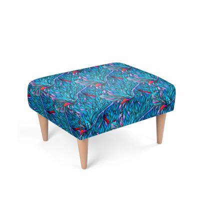 'Blue' Footstool