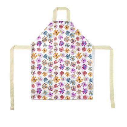 Rainbow Daisies Collection Apron
