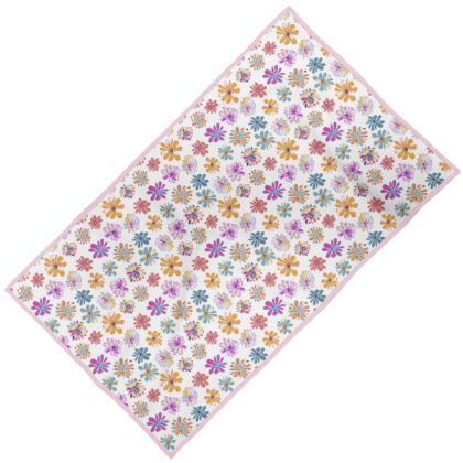 Rainbow Daisies Collection Towel