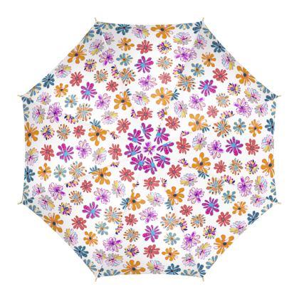 Rainbow Daisies Collection Umbrella