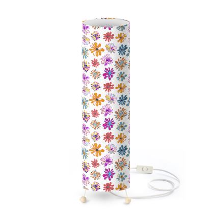 Rainbow Daisies Collection Standing Lamp