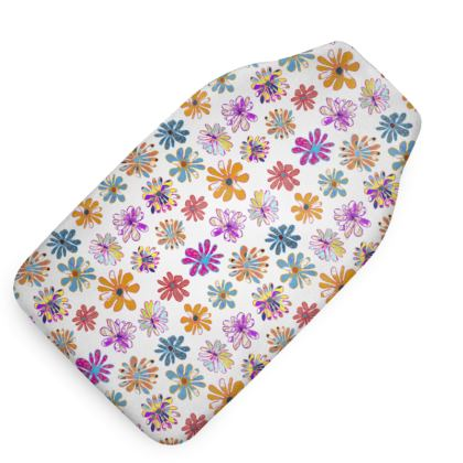 Rainbow Daisies Collection Hot Water Bottle
