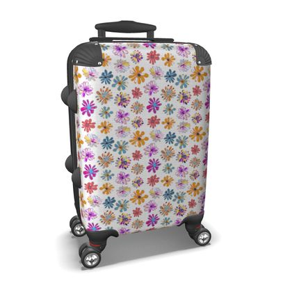 Rainbow Daisies Collection Suitcase