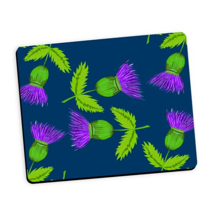 Thistle repeat mouse mat
