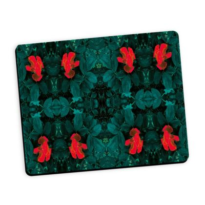 Tulip reflection mouse mat