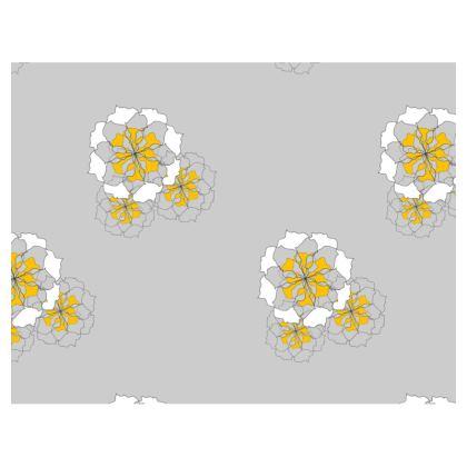 Flower mouse mat