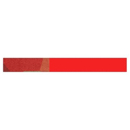 Shades of Red Abstract Design Fleece Scarf ©