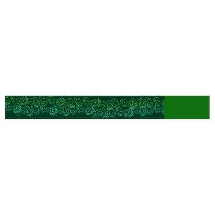 Emerald Green Fleece Scarf ©