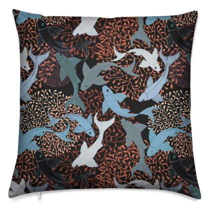 Sea Life Collection_Sea Ginger - Luxury Cushion