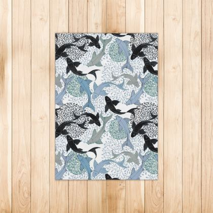 Sea Life Collection_Sea Ginger (White) - Luxury Rugs