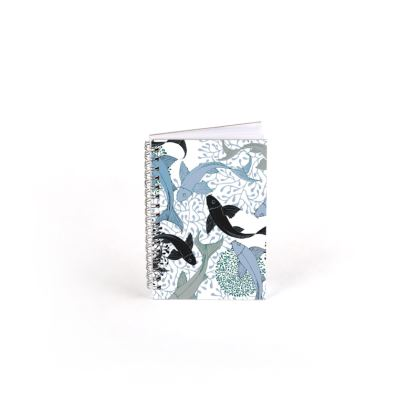 Sea Life Collection_Sea Ginger (White) - Spiral Note Books