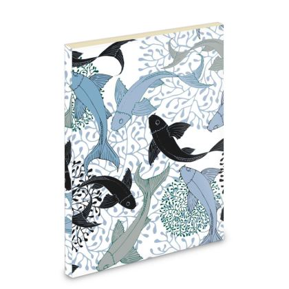 Sea Life Collection_Sea Ginger (White) - Pocket Note Book