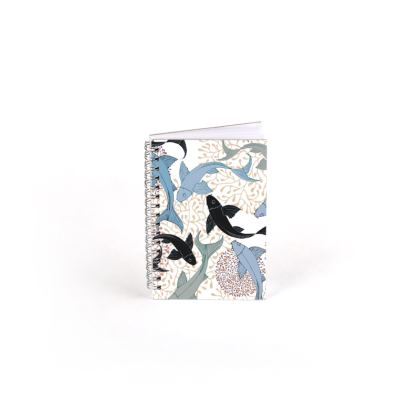 Sea Life Collection_Sea Ginger (Ivory) - Spiral Note Books