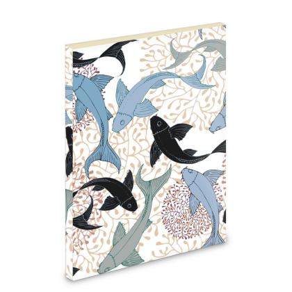 Sea Life Collection_Sea Ginger (Ivory) - Pocket Note Book